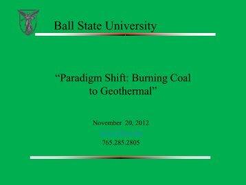 Download the presentation - EERE - U.S. Department of Energy