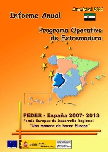 Año 2011 - Dirección General de Fondos Comunitarios - Ministerio ...