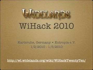Karlsruhe - Widelands