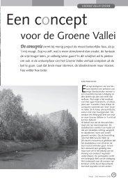 jg1_nr2_Een concept voor de groene vallei.pdf - Natuurpunt Gent