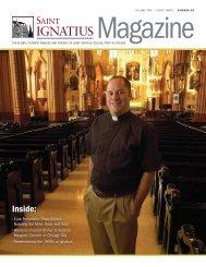 Inside: Inside: - St. Ignatius College Prep