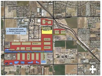 Draft Master Plan for Industrial Build-Out