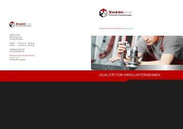 Imagebroschüre - 3 Werk GmbH