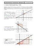 Lineare Formen der Funktionsgleichung - Seite 2