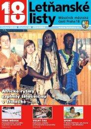 Africké rytmy zaplnily tělocvičnu v Třinecké strana 23 - Letňanské listy
