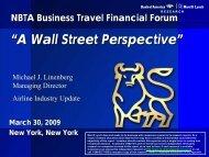Michael Linenberg - The Global Business Travel Association