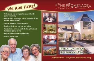 We Are Here! - Promenade Senior:Home