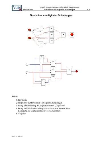 Simulation von digitalen Schaltungen - VLiN