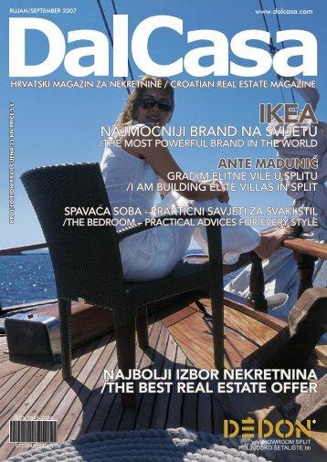 najbolji izbor nekretnina /the best real estate offer - DalCasa