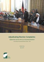 1404EAdjudicating Election Complaints Case Study