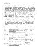 CURRICULUM VITAE - Zakład Chemii Analitycznej - Page 2