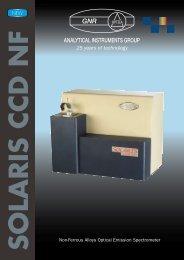 Non-Ferrous Alloys Optical Emission Spectrometer - Pinhills