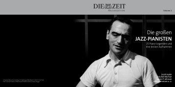 Die großen JAzz-PiAniSten - ZEIT Shop