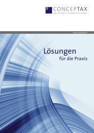 Praxisbroschüre als PDF-Datei - Sozietät Siekmann, Janell und ...