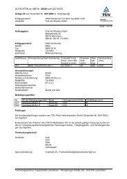 GUTACHTEN zur ABE Nr. 45340 nach §22 StVZO Anlage 20 zum ...