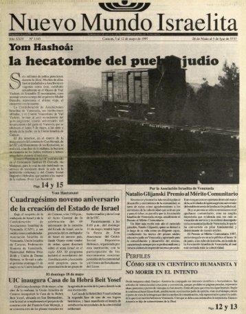 ' Nuevo Mundo Israeht - Saber UCAB - Universidad Católica Andrés ...