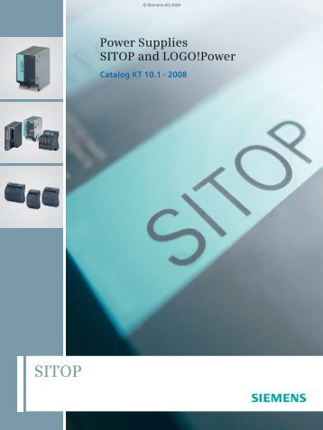 Power Supplies SITOP and LOGO!Power - Tehnounion
