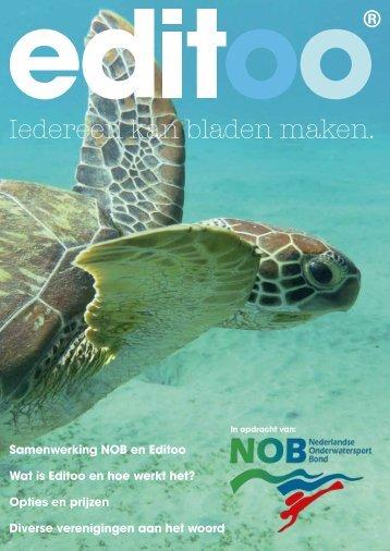 Folder Editoo voor NOB-verenigingen