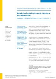 Simplifying Topical Calcineurin Inhibitors for Primary Care ...