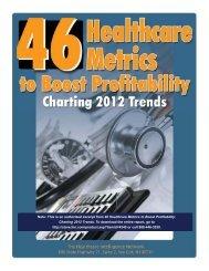 Executive Summary of 46 Healthcare Metrics to Boost Profitability