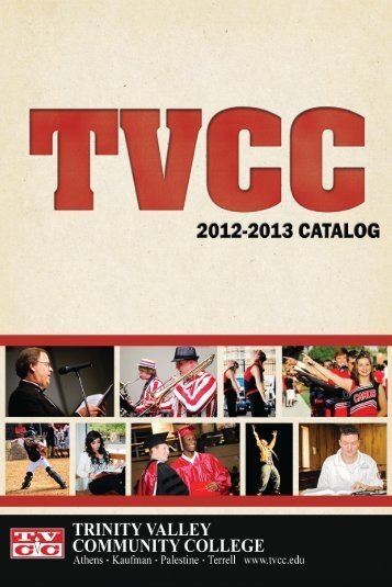 directory of correspondence - Trinity Valley Community College