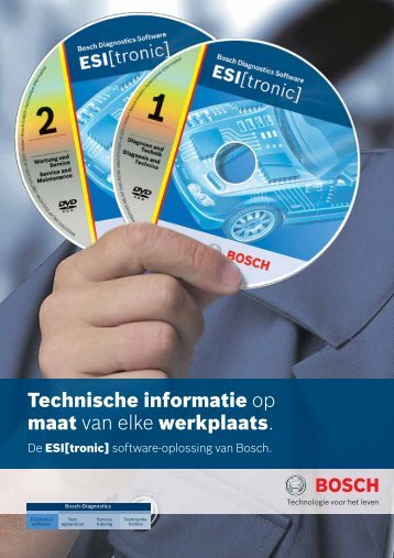 Bosch ESI [tronic] - Aftersales Magazine