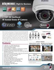 DNV14TL2 spec sheet - Digimerge