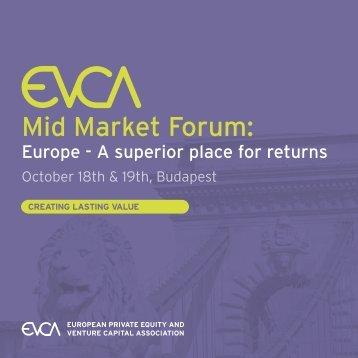 Mid Market Forum: - EVCA