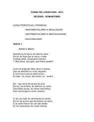 Curso de Literatura - 2013 - Faculdade Padre Machado
