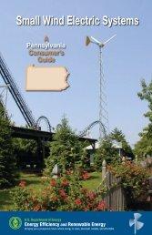 Small Wind Electric Systems: A Pennsylvania Consumer's ... - NREL