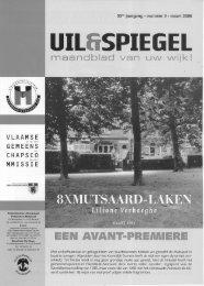 EEN AVANT-PREMIERE - Heembeek-Mutsaard-Ingezoomd.be