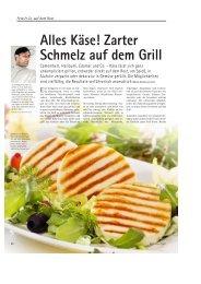 Käse! Zarter Schmelz auf dem Grill Eine - Meike Nordmeyer