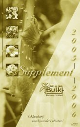 Supplement Catalogus - Bulk Boskoop