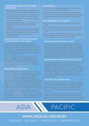 ASIA PACIFIC - OCHANet