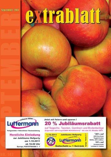 Ausgabe September 2011 - Extrablatt