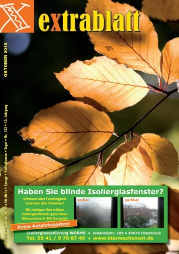 Ausgabe Oktober 2010 - Extrablatt