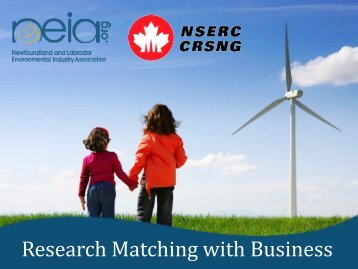 Research Matching with Business - NEIA
