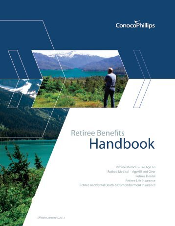 Retiree Benefits Handbook - ConocoPhillips