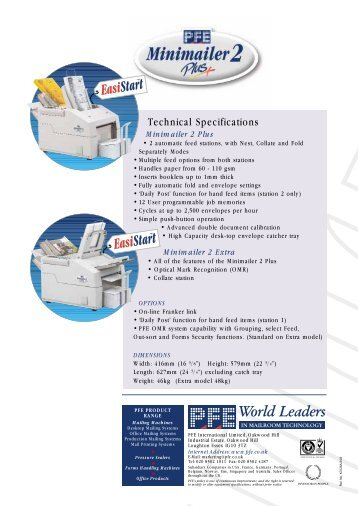 Mini2 Brochure rev 1