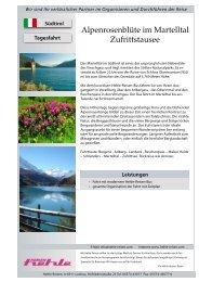 1 Tag - 6 Vorschläge - hehle-reisen.com