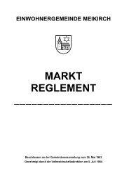 Inhalt Gemeinderat - Gemeinde Meikirch
