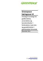 Greenpeace 7 november