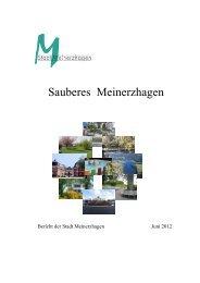 """Infoheft """"Sauberer Sommer"""" - Meinerzhagen"""