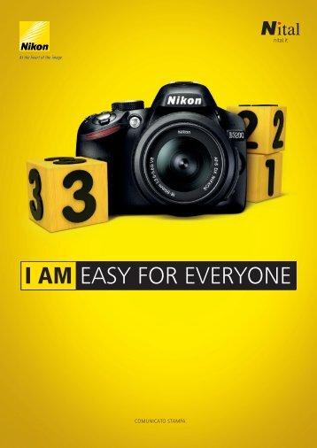Nikon D3200, comunicato Stampa Ufficiale - Nexthardware.com
