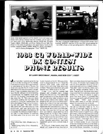 1983 - CQ WW