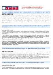 NÚMERO 1 (ENERO / 1999) La Organización Mundial de la Salud ...