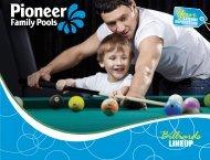 Billiards - Pioneer Family Pools