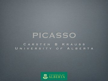 Carsten B Krauss University of Alberta - SNOLAB 2010