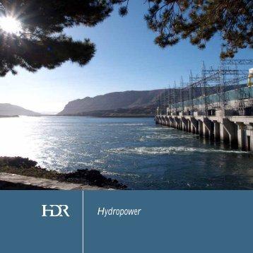 Hydropower Brochure - HDR, Inc.