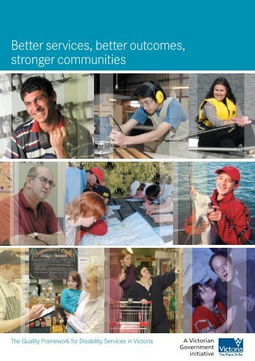 Better Services, better outcomes, stronger communities